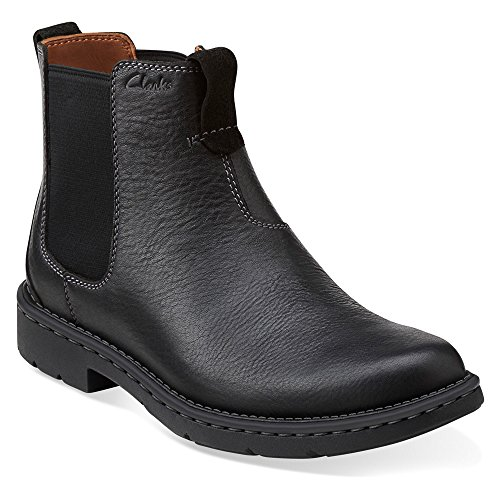 Clarks Men S Stratton Hi Chelsea Boot Black 10 5 M Us