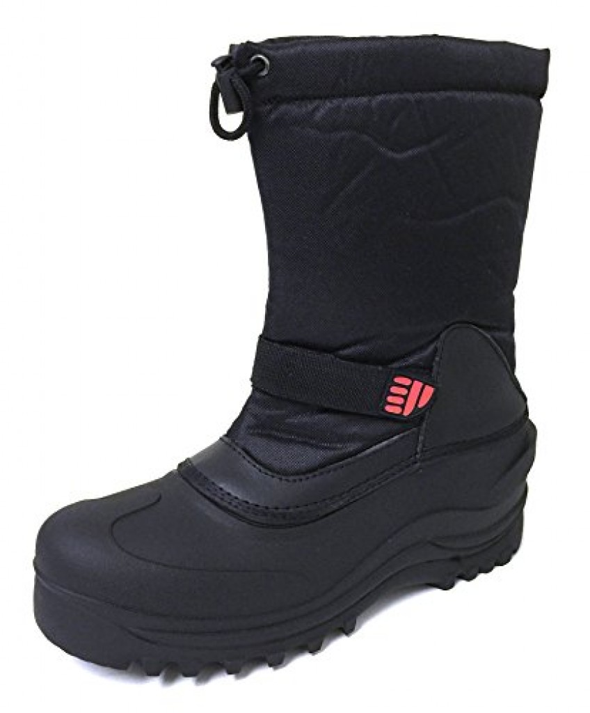 Men's Winter Boots Cold Weather Waterproof Nylon Insulated