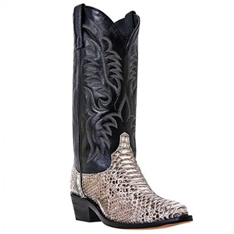 3c6e4a8d2df9 Laredo Key West Men s Python Cowboy Boots Review