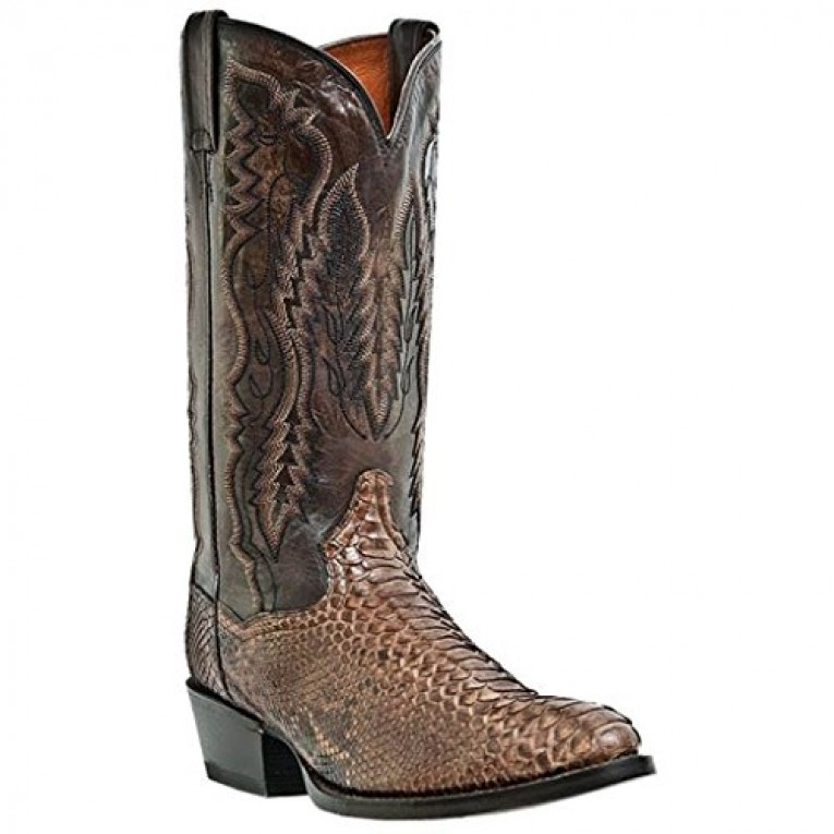 Dan Post Genuine Python Western Bay Apache Cowboy Boots: A Review ...
